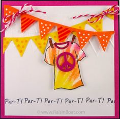Summer Lineup - Par-T Tie Dye T