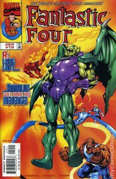 Fantastic Four (1998 3rd Series) 19 Marvel Comics Modern Age Comic book covers Super Heroes Villians