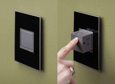 La prise électrique en bouton poussoir : une idée innovante et élégante