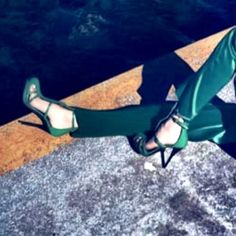 I want these gorgeous Emerald Green heels from the new SS12 Bianca Spender catalogue...they look like Camilla Skovgaard but alas, they're not! If anyone knows please comment :)