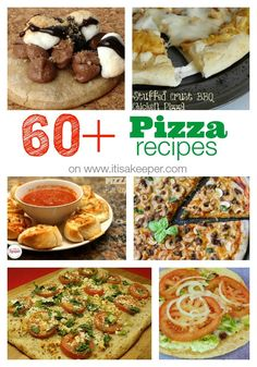 60+ Pizza Recipes on It's a Keeper