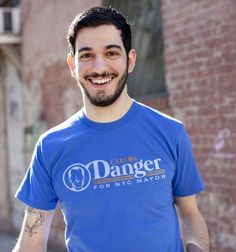 Carlos Danger for NYC Mayor t-shirt from BustedTees. In case you don't know , Carlos Danger was the name  Anthony Weiner used when sending naked pics of himself online.