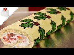 12 Days of Christmas - Christmas Deco-Roll | Recetas navideñas por Azúcar con Amor