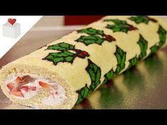 Christmas Deco-Roll | Recetas navideñas por Azúcar con Amor - YouTube