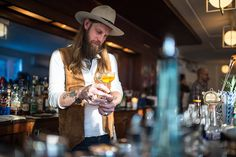 Brooklyn's Grand Army Bar is our 2017 Bar of the Year. | Photo by Daniel Krieger. #Imbibe75