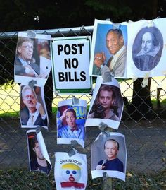 Post no Bills: REBELLION!