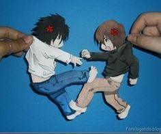 L And Light Death Note on Pinterest | Death Note L, Shinigami and L And Light