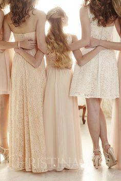 Christina Wu Mini Maids junior bridesmaid dress.