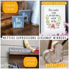 @NettiesExpressions posted to Instagram: #\\# #\\\\# #\\\\# #\\\\\\\#!!   Thank you to everyone who entered this giveaway! All four winners have been contacted now.  Friday is here and the sun is shining! Have a beautiful day ☀  #nettiesexpressions #roblin #roblinmb #roblinmanitoba #shophandmade #shopmanit