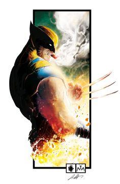Wolverine by Leonardo Colapietro MANTIS STUDIO COMICS is on PInterst NOW! More Visions here : http://mantistudiocomics.blogspot.it/