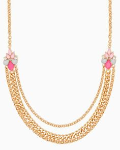 charming charlie | Blondie Jewel Chain Necklace | UPC: 450900339449 #charmingcharlie