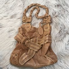 BOGO ITEM-Final Price! Marc Ecko Purse Tan/brown purse by Marc Ecko. In EUC. Has a sort of hobo bag style. Price firm for this.  Read BOGO LISTING for BOGO details :) Bags Hobos