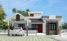 Get ready to unfold the remarkable features of this 103 sq. stylish single story contemporary house with a functional roof deck.