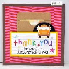 Thank you for being an awesome bus driver teacher gifts & ap Back To School Gifts For Teachers, Back To School Kids, Make School, End Of School Year, Thank You Teacher Gifts, Teacher Christmas Gifts, Your Teacher, Bus Driver Appreciation, Teacher Appreciation Gifts