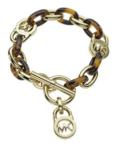 Toggle Link Bracelet by Michael Kors at Neiman Marcus.