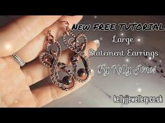 Hello and welcome to my latest tutorial. To make these earrings you will need; Wire Wrapped Jewelry, Wire Jewelry, Jewellery, Wire Earrings, Statement Earrings, Bent Nose, Wire Tutorials, Diy Crown, Wire Pendant