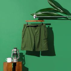 Feeling the wanderlust yet? Travel in carefree style in Uniqlo shorts. Complete Outfits, Green Fashion, Single Piece, Kids Outfits, Beach Outfits, Clothing Items, Summer 2016, Style Me