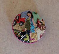 Rachel Ballard - Metamorphosis button