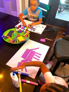 Easy Preschool Shape Activities: Shape Animals
