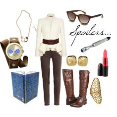 """""""River Song"""" by favourite-fictional-fashions on Polyvore. I genuinely like this outfit!"""