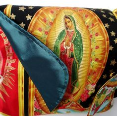 Guadalupe Messenger Bag / Purse/ Virgin Mary / by VintageGaleria