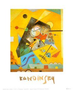 Quiet Harmony. Wassily Kandinsky