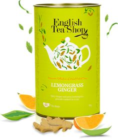 Lemongrass Ginger | English Tea Shop- my favorite and hardest to find in the U.S. Tea. I love this tea