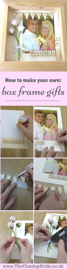 The perfect gift for any engaged couple, newlyweds, even your bridesmaids or bridal party! Quick, easy and cheap to make and yet such a love wedding gift idea!