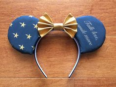 Hamilton Inspired Mouse Ears Custom Mouse Ears by MouseWears