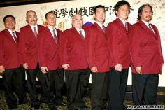 PHOTO: The 50th anniversary of the Seven Little Fortunes in 2009, featuring Yuen Biao, Jackie Chan and Sammo Hung