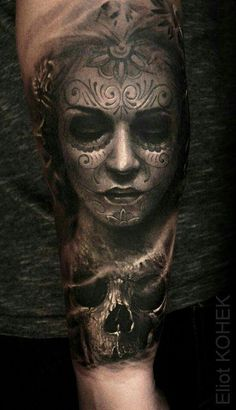 Cool 3D tattoo