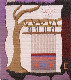 "Elaine Duncan, Song of the Loom, 10"" x 8 3/4"" (response to Ann's: Errington, B.C)"