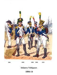 Volteggiatori della fanteria di linea francese