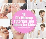 10 DIY Makeup Tutorials and Ideas for Girls