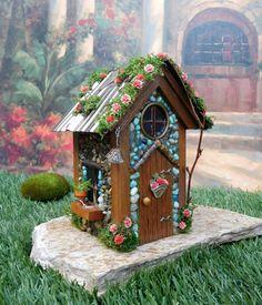 Fairy House/ Fairy Garden House / The by TheHealersGarden on Etsy