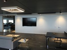 Another project completed, looks great! Flat Screen, Conference Room, Commercial, Table, Projects, Furniture, Home Decor, Blood Plasma, Blue Prints
