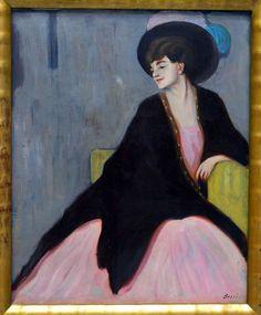 Gabriele Munter Bossi Ritratto di Marianne Werefkin