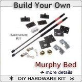 We supply the bed frame Murphy bed plans and kit I wanna put two of these in the kids room We have