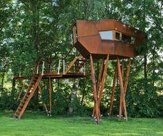 Treehouse Bachstelze, Austria