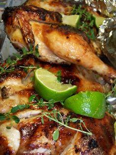 Flattened Cornish Game Hens With Garlic-citrus Marinade Recipe - Food.com