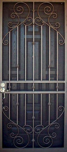 Jaali door design modern 63 new Ideas Grill Door Design, Main Door Design, House Front Design, Steel Gate Design, Balcony Grill, Steel Security Doors, Iron Windows, Wrought Iron Doors, Glass Front Door