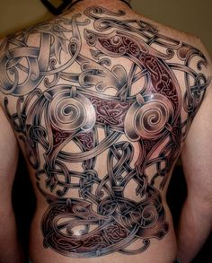 Viking art Ringerike - style Tattoo by ~DarkSunTattoo on deviantART