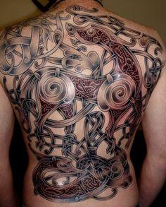 Viking art Ringerike - style Tattoo by ~DarkSunTattoo on deviantART