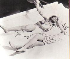 Jean Cocteau creates