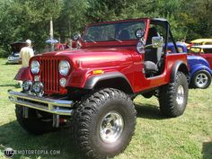 1978 Jeep CJ7...get lost on a Sunday cruise in this thing.