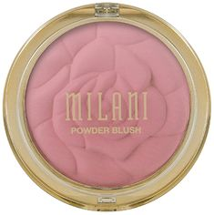 Milani Rose Powder Blush - Romantic Rose Ounce) Cruelty-Free Blush - Shape, Contour & Highlight Face with Matte or Shimmery Color Peach Blush, Blush Roses, Tea Roses, Cheek Makeup, Blush Makeup, Face Makeup, Flawless Makeup, Too Faced Highlighter, Best Highlighter
