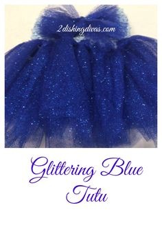 This absolutely beautiful glittering blue tutu is SO easy to make, but delivers dramatic impact for your baby diva! Find out how to make it here!