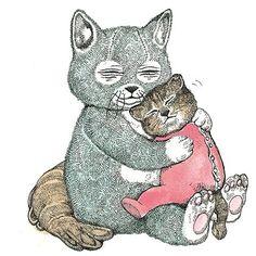 いいね!328件、コメント1件 ― 月刊MOEさん(@moe_web)のInstagramアカウント: 「ヒグチユウコさんの最新絵本『いらないねこ』の発売を記念し、蔦屋家電 二子玉川で9月1日(金)〜14日(木)の間、ヒグチユウコさんの原画展が開催されます。…」 Color Wallpaper Iphone, Colorful Wallpaper, Kawaii Illustration, Little Monsters, Cat Drawing, Cat Lady, Alice In Wonderland, Cats And Kittens, Drawings