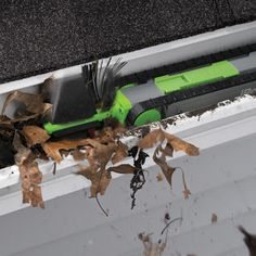 Reason Why I'm Broke: Gutter Cleaning Robot