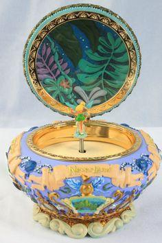 Peter Pan Jewelry & Music Box